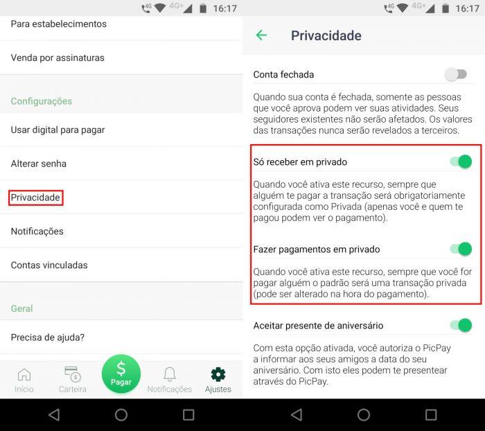 Android / PicPay / picpay app de pagamentos
