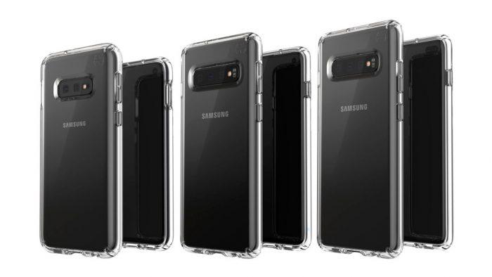 Estes podem ser o Galaxy S10E, Galaxy S10 e Galaxy S10+