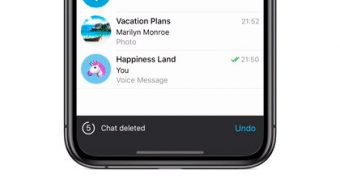 Telegram ganha recurso para desfazer exclusão de conversas