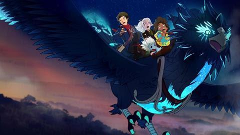 O Príncipe Dragão - Netflix