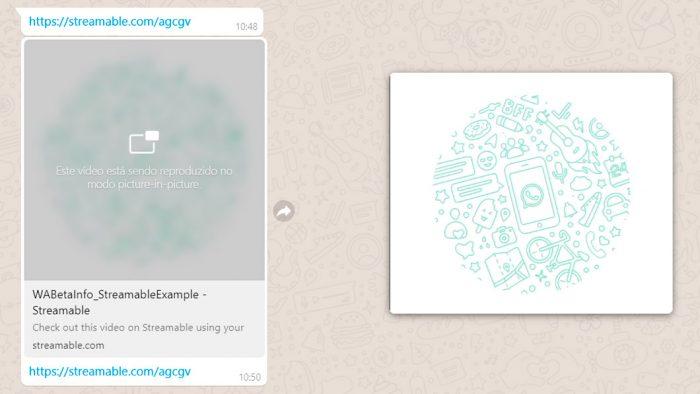 WhatsApp Web ganha modo picture-in-picture para rodar vídeos de YouTube, Instagram e Facebook
