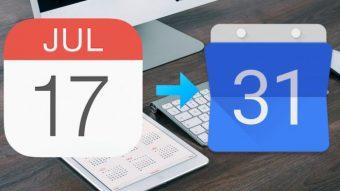 Como sincronizar agenda Google do Gmail com calendário do iPhone