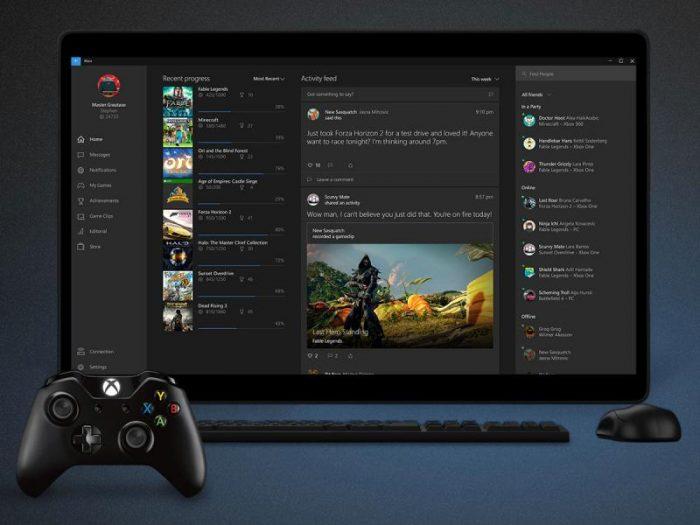 Microsoft / Xbox One no PC / streaming xbox one