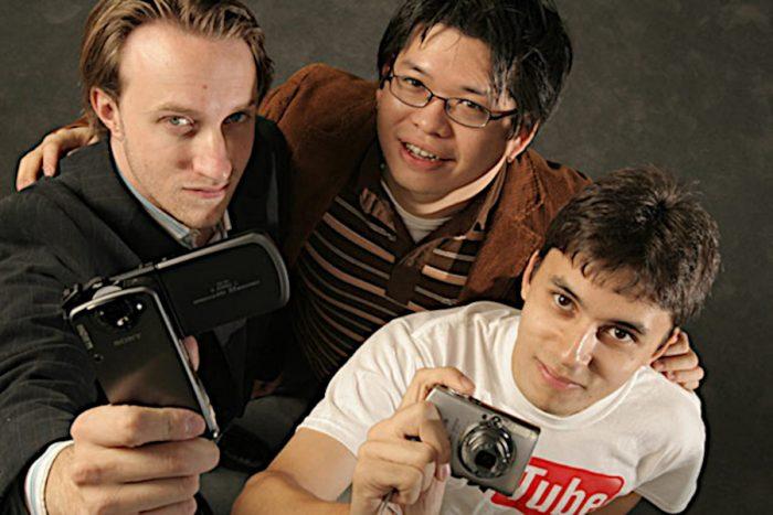 YouTube / Chard Hurley, Steve Chen e Jawed Karin / quem criou o youtube
