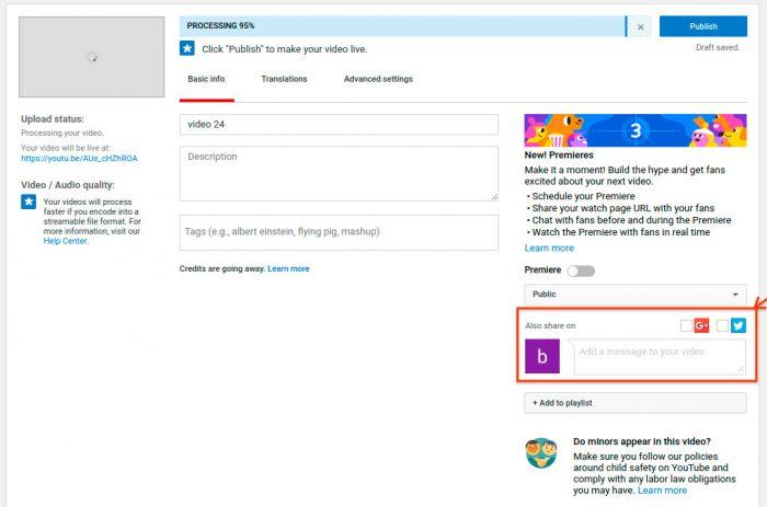 YouTube acabará com compartilhamento automático no Twitter e no Google+