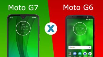 Qual a diferença entre o Moto G7 e o Moto G6?