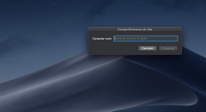 Compartilhar Tela Mac