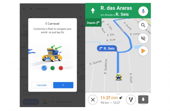 Google Maps Carnaval 2019