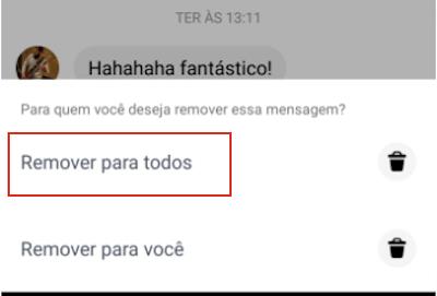 Messenger Remover para Todos