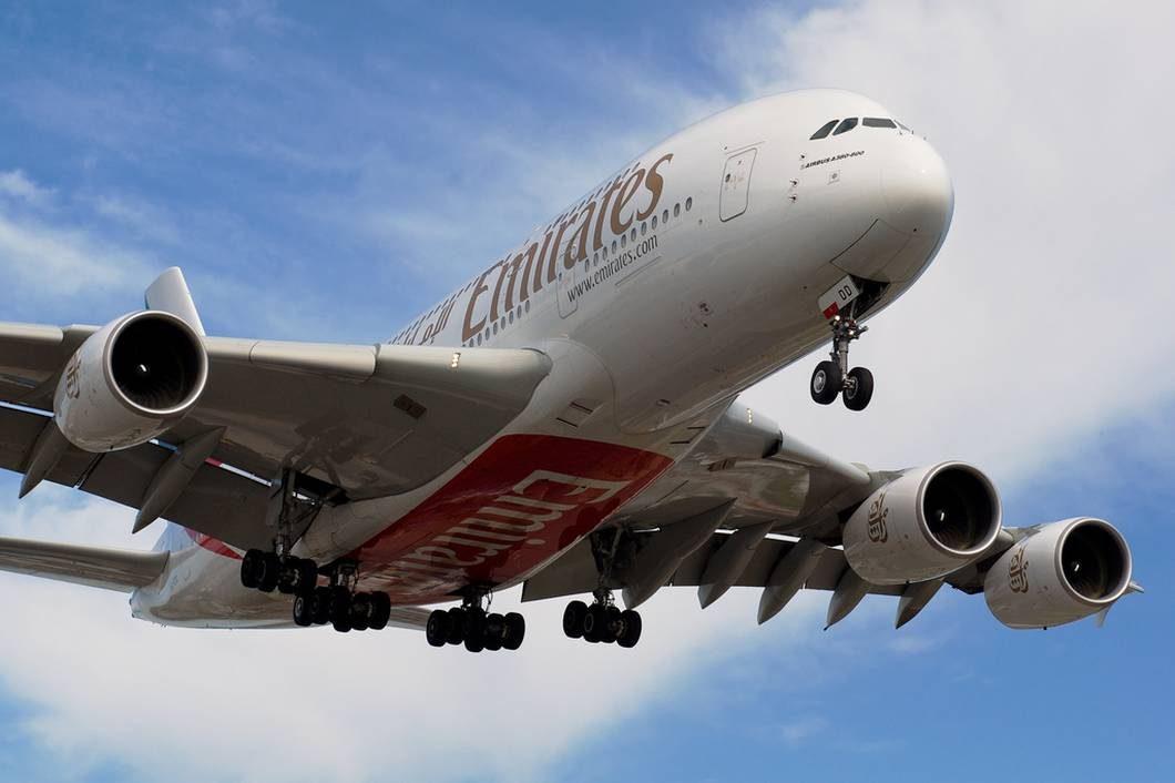 Airbus A380 da Emirates (foto: Flickr/BriYYZ)
