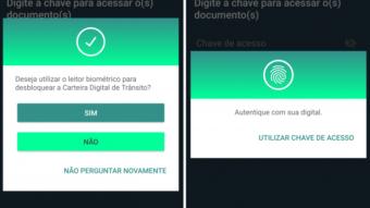 CNH Digital permite usar leitor de digitais em vez de senha no Android e iPhone