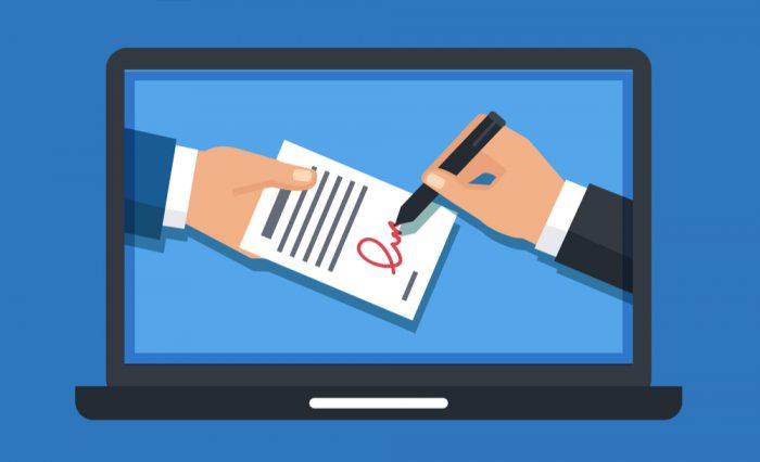 Assinatura digital / como fazer assinatura digital