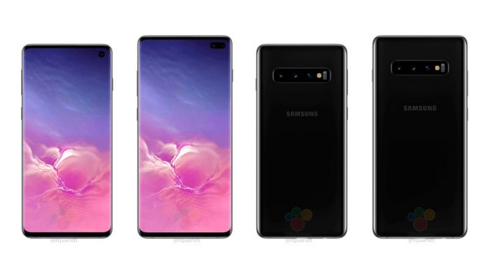Comparação entre o Galaxy S10 e S10+