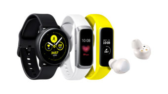 Galaxy Watch Active e Galaxy Fit são lançados pela Samsung com foco em exercícios