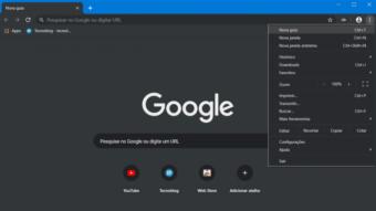 Google Chrome melhora modo noturno em testes no Windows