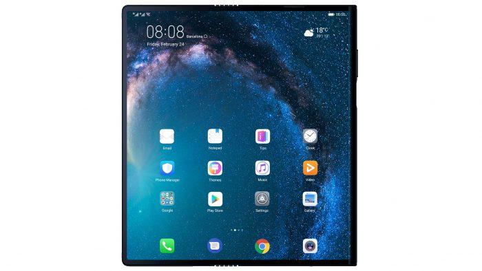 - huawei mate x dobravel 700x394 - Huawei quer lançar celular dobrável Mate X no Brasil ainda este ano