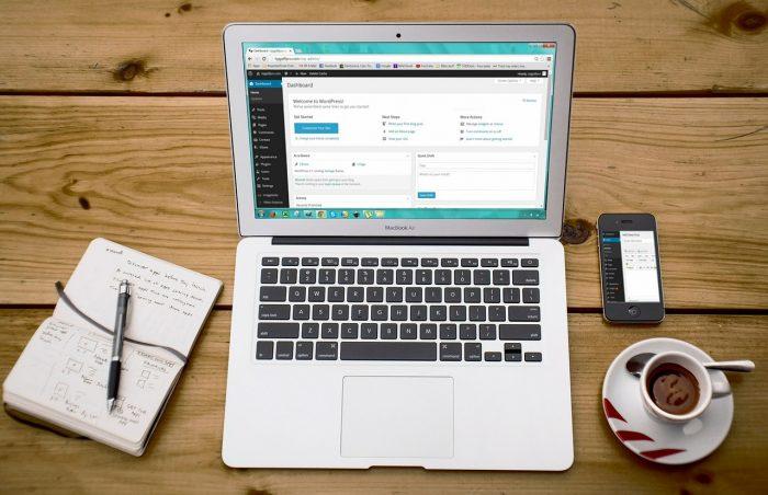 27707 / notebook e WordPress / o que é wordpress