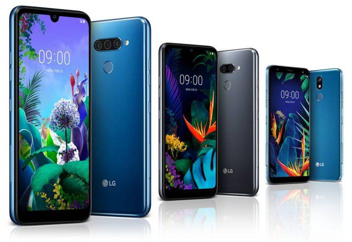 LG Q60, K50 e K40