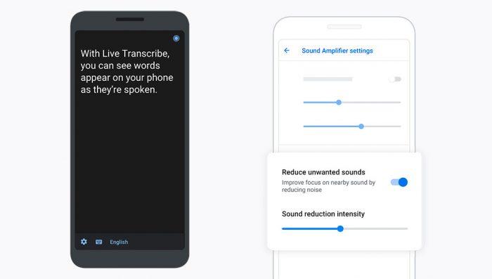 Google apresenta Live Transcribe e Amplificador de Som