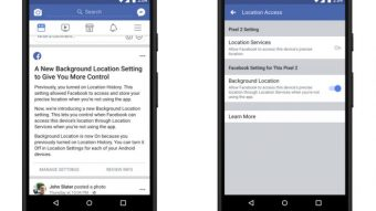 Facebook para Android permite bloquear acesso à localização em segundo plano