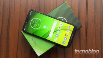 Moto G7 Power: o smartphone bom de bateria