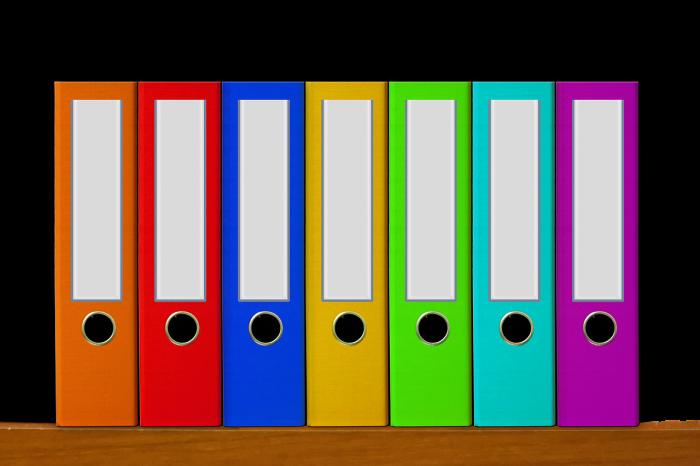 Folders / Pixabay
