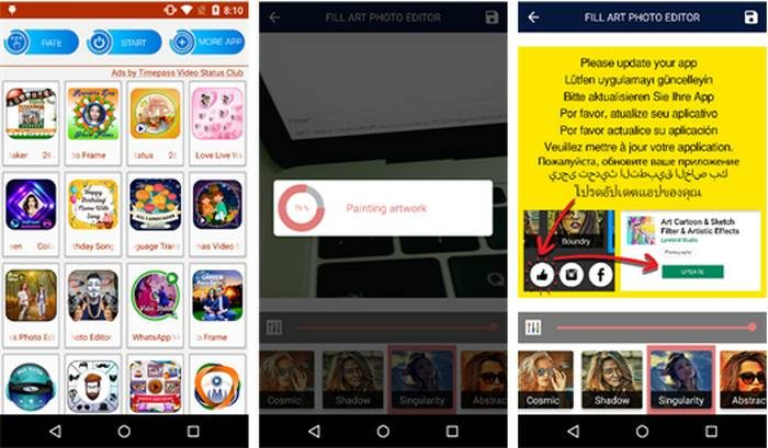 App malicioso na Play Store (Imagem: Trend Micro)