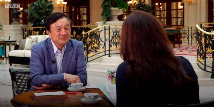CEO e fundador da Huawei, Ren Zhengfei (Foto: Reprodução/BBC)