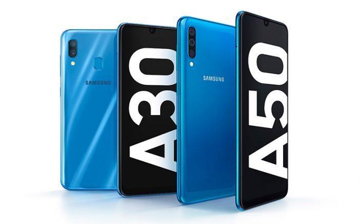 Samsung Galaxy A30 e A50