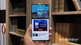 Samsung Galaxy S10, S10+ e S10e: uma olhada de perto