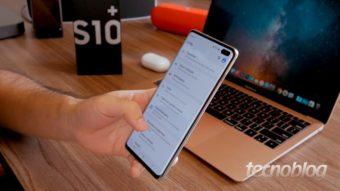 Galaxy S10 e mais celulares vão receber Android 11 beta com One UI 3.0