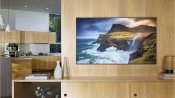 Esta é a linha de TVs 4K e 8K da Samsung com iTunes e Apple AirPlay em 2019