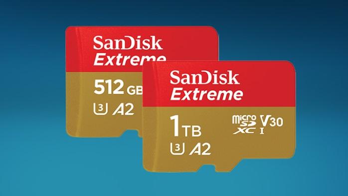 SanDisk e Micron anunciam os primeiros cartões microSD de 1 TB