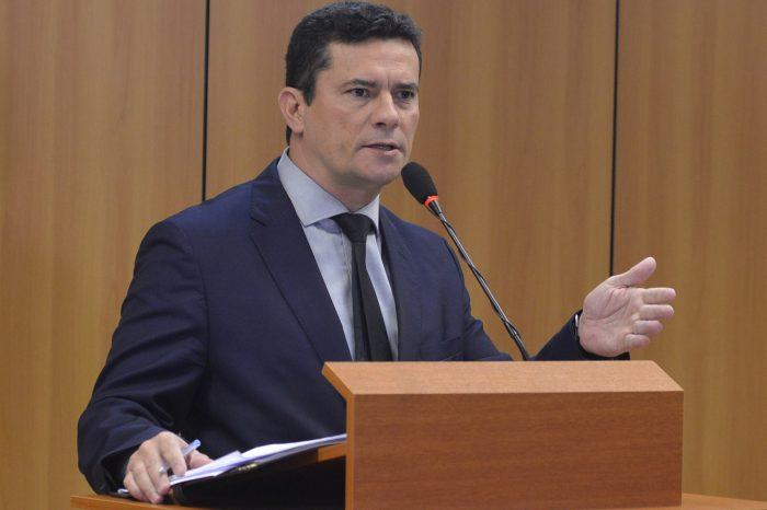 A equipe do WhatsApp se reuniu com o ministro da Justiça e Segurança Pública, Sergio Moro (Foto: Isaac Amorim/MJSP)
