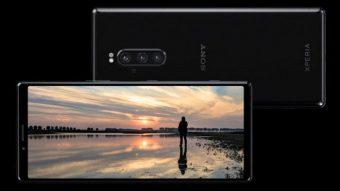 Xperia 1, Xperia 10 e 10 Plus são os celulares da Sony com tela 21:9