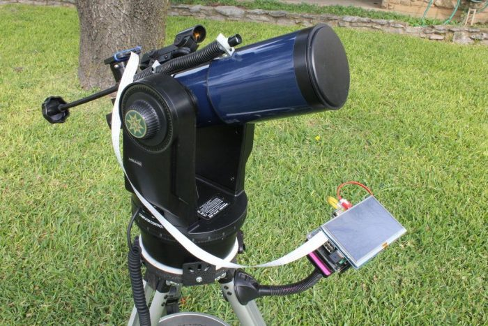 Telescópio e Raspberry Pi / o que fazer com raspberry pi