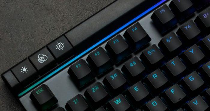 HyperX Alloy Elite RGB / teclado mecânico