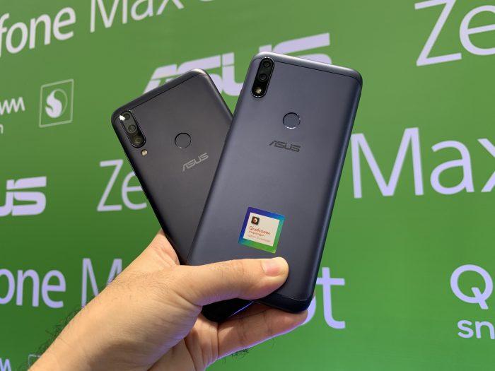 Asus Zenfone Max Shot e Max Plus (M2)