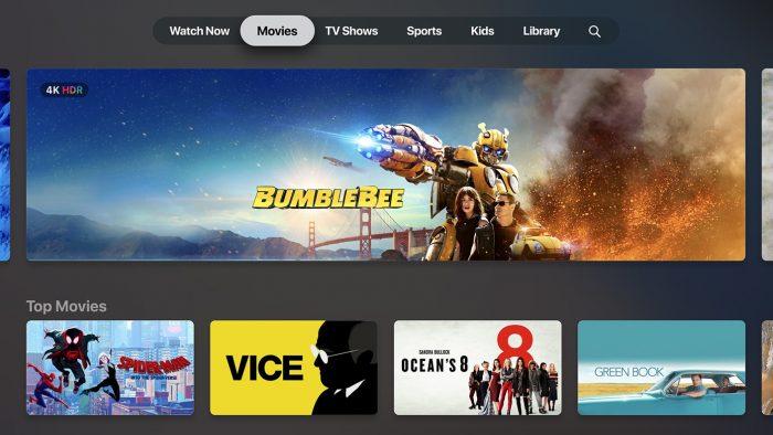 - Apple TV app 1 700x394 - Apple lança novo app TV no iOS 12.3 e ativa AirPlay em TVs da Samsung