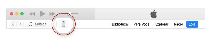 Mudar o nome do iPhone no iTunes