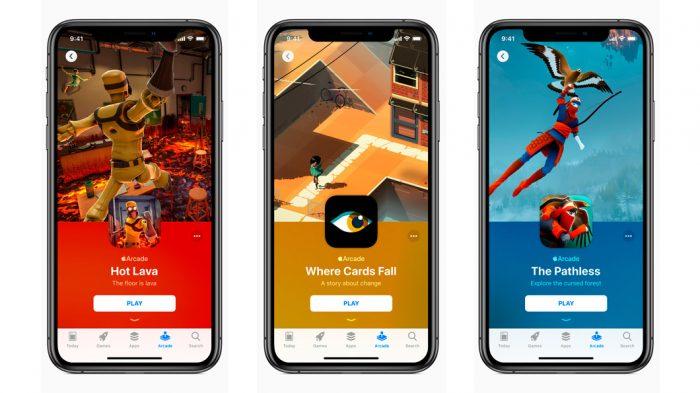 Apple Arcade terá aba na App Store