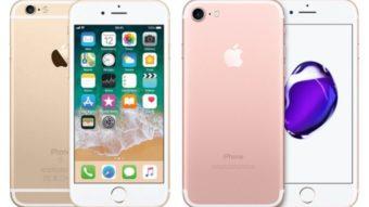 Qual a diferença entre o iPhone 6s e o iPhone 7?