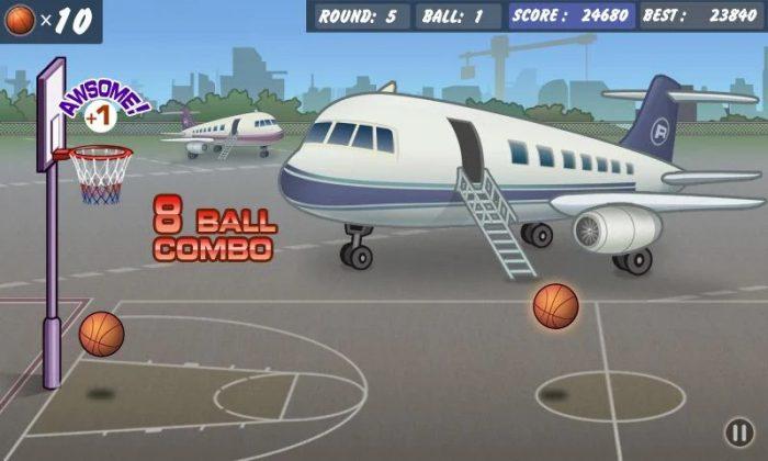 Basketball Shoot / jogos que ocupam pouco espaço