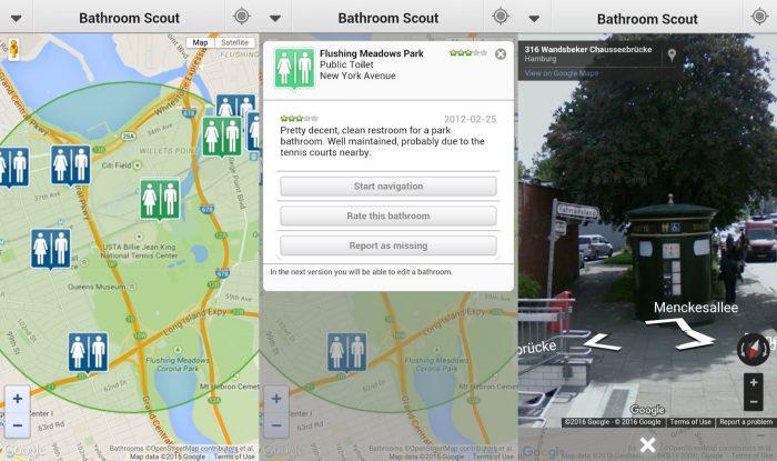 Android / Bathroom Scoit / banheiro