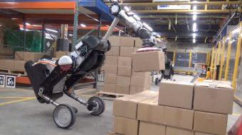 Robô da Boston Dynamics ganha upgrade e levanta cargas de até 15 kg