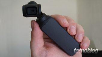 DJI Osmo Pocket: ótima câmera compacta que precisa de refinamentos