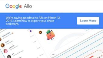 Google Allo é desativado; Inbox e goo.gl acabam em breve