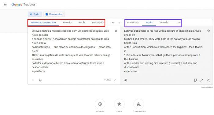 Web / Como funciona o Google Tradutor