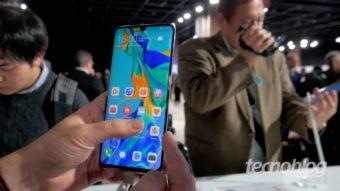 Huawei abre quiosques em SP com desconto de R$ 1 mil no P30 Pro