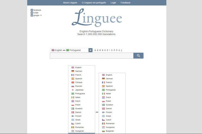 Linguee / tradutor